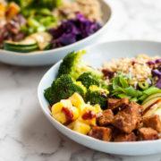 Korean BBQ Bowl tempeh